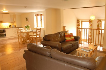 The Granary living room